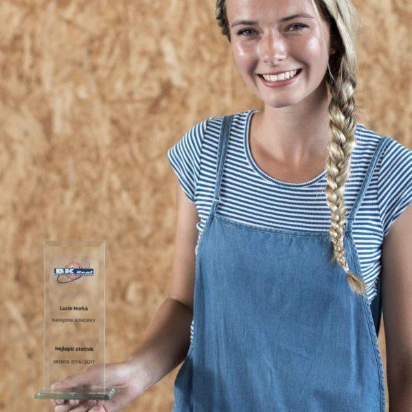 Nejlepší útočník v kategorii juniorek – Lucie Horká